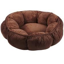 aspen pet puffy round cat bed