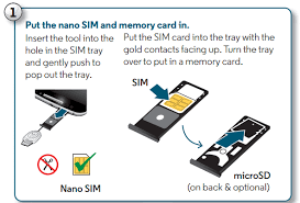 moto x play insert or remove the sim and memory cards