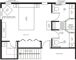 master suite floor plans master bedroom and bath plans home planning ideas 2017