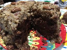 chocolate desserts thanksgiving mama u0027s german chocolate cake recipe myrecipes