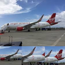 Virgin America Route Map Virgin America Hawaii Hnl Inaugural November 2 2015 In First