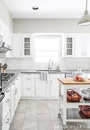 Classic White Kitchen Designs Best 20 White Grey Kitchens Ideas On Pinterest Grey Kitchen