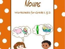nouns common nouns u0026 proper nouns worksheets for grade 1 u0026 2 by
