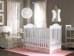 baby nursery quirky baby nursery with grey and white bedding for
