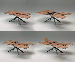 ozzio dining table 4x4 transformable to on behance
