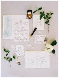 exquisite wedding invitation suite on deckle edge paper with