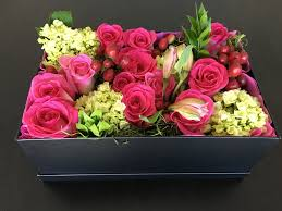 Chic Flower Flower In A Box 5 U2013 Rose Chic Flowers