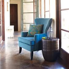 peacock blue chair crafty design turquoise wingback chair pacific blue elliott