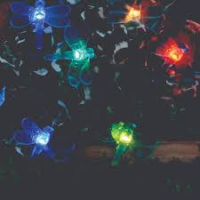 color changing solar string lights solar string lights 20 led color changing dragonflies smart solar