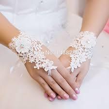 gant mariage gants mariage 2017 nouvelle dentelle gants de mariée blanc ivoire