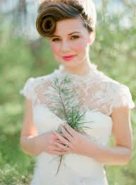 1116 Best Vintage Wedding Dresses Images On Pinterest Vintage 30 Ways To Style Short Hair For Your Wedding Bridal Musings
