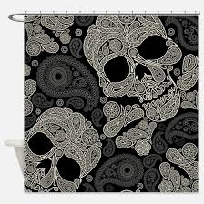 Black And White Paisley Shower Curtain - black paisley shower curtains black paisley fabric shower