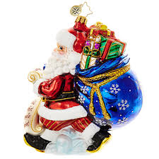 christopher radko ornament 2016 radko picking up presents