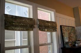 Mock Roman Shade Valance - easiest faux roman shades ever how to roman shade home stories