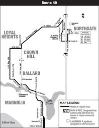 Seattle Bus Map by Service Change Information King County Metro Transit