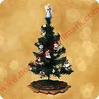 miniature christmas trees 2002 christmas tree with decorations hallmark display