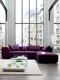Purple Table L I M In With This Purple Sofa Rulph S Design Purple