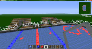 2 months of work but i finally have a minecraft hockey stadium