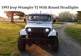 jeep wrangler square headlights jeep wrangler yj square to circle headlight conversion no