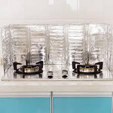 stove splash guard new aluminum foil kitchen oil splash guard gas stove cooker oil