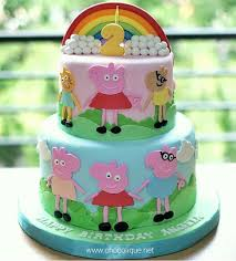 peppa pig cake peppa pig cake for angela chocolique