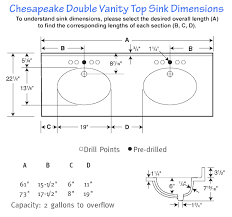 double sink vanity top sizes wonderful swanstone sinks throughout double sink vanity sizes