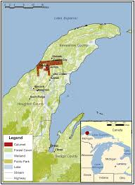 map of calumet michigan sustainability free text boom bust and beyond arts and
