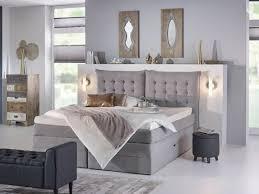 schlafzimmer boxspringbett boxspringbett in grau das gemütliche highlight in ihrem