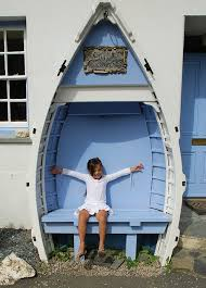 boat bench furniture pinterest blue garden bench and boating