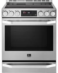 lg kitchen appliances reviews reviews for lsse3026st lg studio 30 slide in electric range with