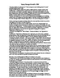 Theme Essay For 1984 | essay 1984 theme totalitarianism international baccalaureate