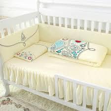 Yellow Crib Bedding Set Warm And Comfortable Soft Yellow Crib Bedding Sets