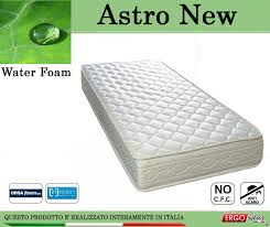 materasso in waterfoam materasso water foam mod astro new da cm 90 poliuretano espanso