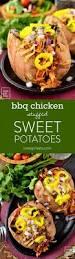 Potatoes As Main Dish - bbq chicken stuffed sweet potatoes iowa eats