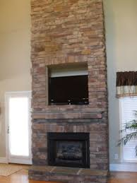 white stone fireplace surround home design ideas