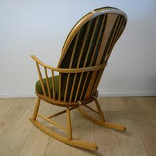 Ercol Windsor Rocking Chair An Ercol Chairmakers Rocking Chair Mark Parrish Mid Century Modern