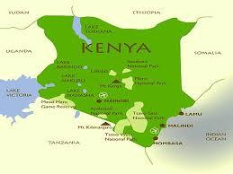 Lake Victoria Map Kenya National Parks