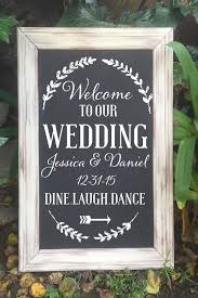wedding welcome sign template best 25 wedding welcome signs ideas on wedding welcome
