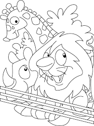 zoo coloring pages getcoloringpages