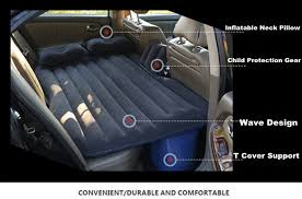 suv dedicated car cushion air bed bedroom inflation thick travel