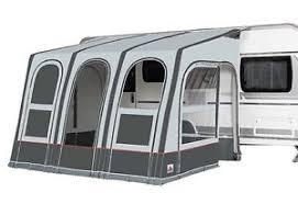 Glossop Caravans Awnings Dorema Futura Air All Season Size 220 330 440 Inflatable Caravan