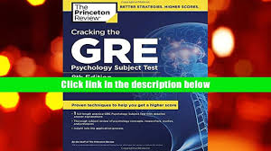 free download cracking the gre psychology subject test 8th