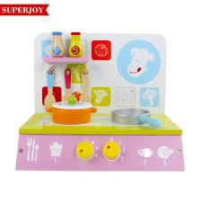 cuisine jouet en gros enfants en bois mini cuisine jouet jeu de rôle bébé en bois