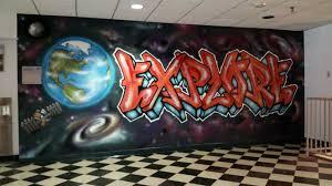 graffiti heart and campus international school give students a graffiti heart