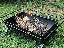 Fire Pit Poker by Wood Burning Fire Pit 35long 23tall Hinged Spark Cover Cooking