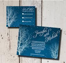 winter themed wedding invitations winter wedding invitation suiteprintable by goosecornergreetings