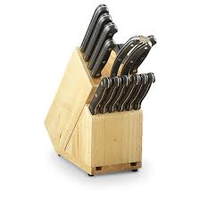 guide gear 13 pc forged steel cutlery set 191104 kitchen
