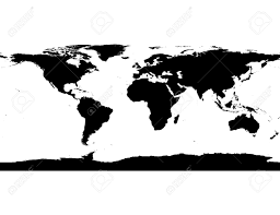 World Map Silhouette Antarctica Clipart World Map Pencil And In Color Antarctica