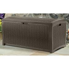 storage bins outdoor storage bins lowes outdoor storage box