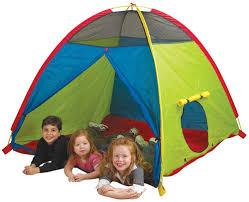 amazon com pacific play tents super duper 4 kid dome tent for